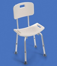 Bath Chair with Back <br>Rest