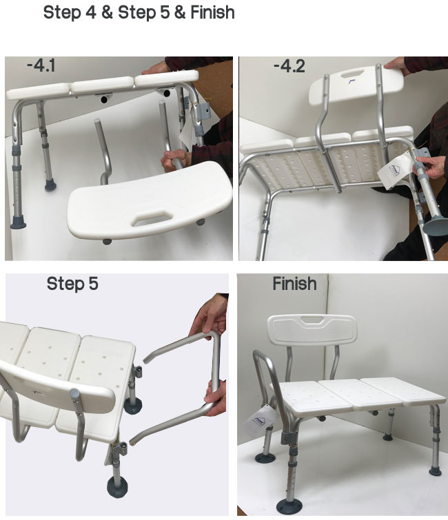 Transfer Bath Bench with Back | MOBB Home Health Care+