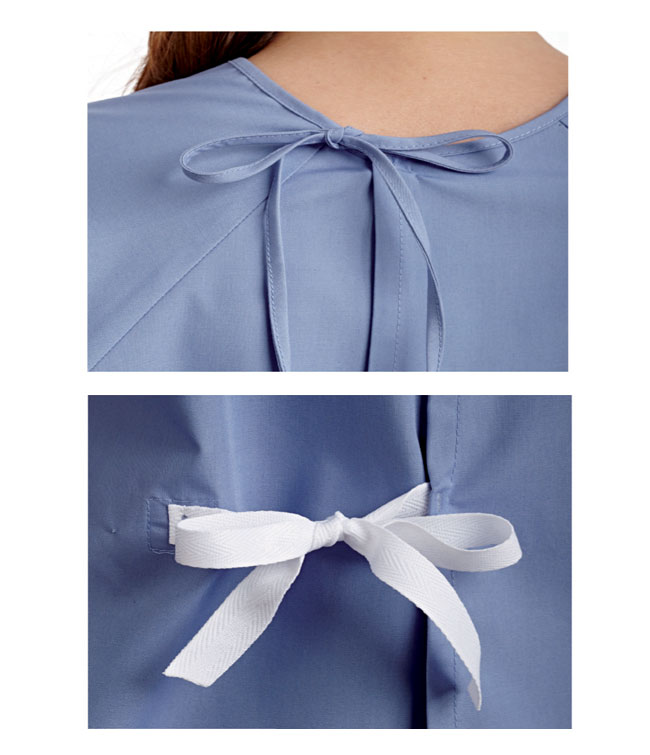 Patient's Night Gown - Bibs and Gowns
