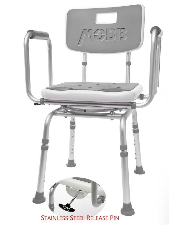 Swivel Shower Chair 2 | Bath Chair | Bathroom Aid | MOBB Home Health ...