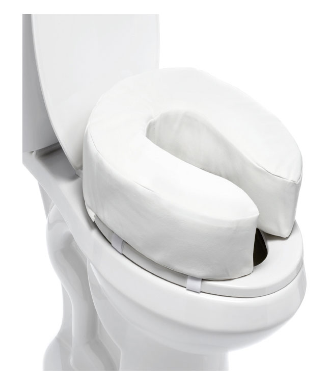 4 Inch Toilet Seat Raiser | MOBB Home Health Care Canada