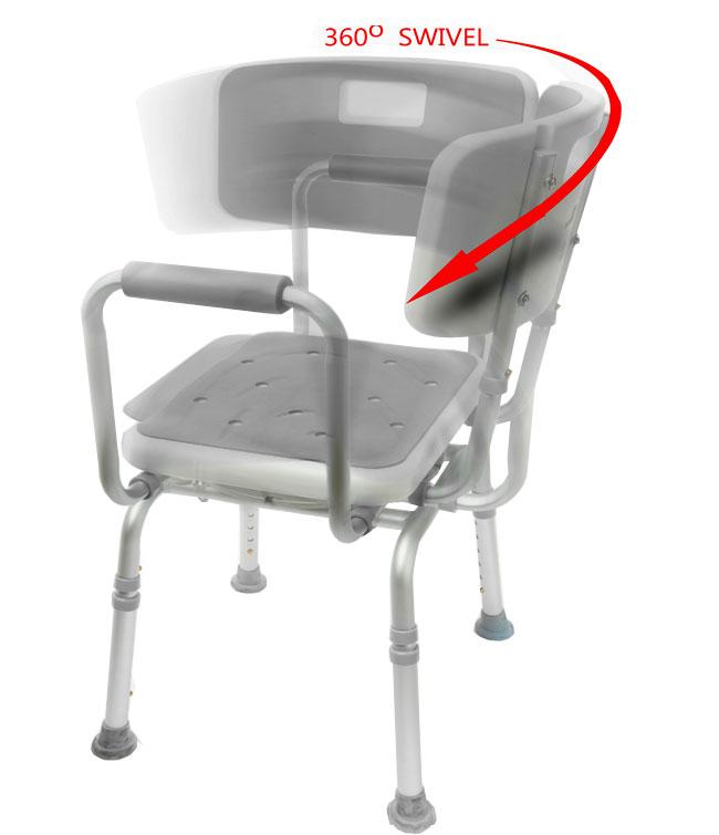 Swivel Shower Chair 2 | Bath Chair | Bathroom Aid | MOBB Home ...