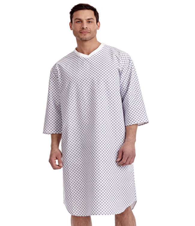Men\'s Night Gown | Bibs and Gowns | MOBB Home Health Care +