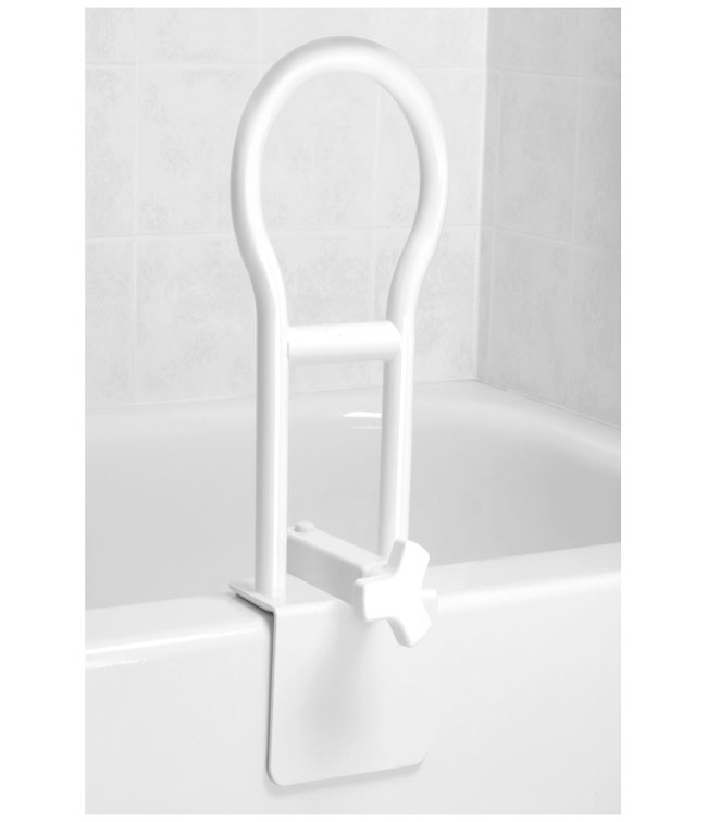 Clamp On Tub Rail
