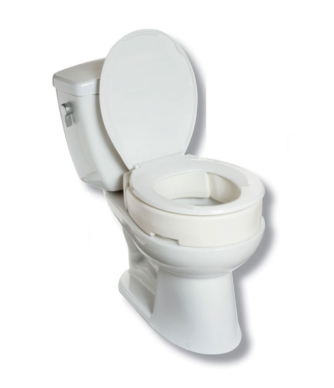 Superb Hinged Raised Toilet Seat Mobb Home Health Care Cjindustries Chair Design For Home Cjindustriesco